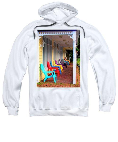 Colorful Chairs Sweatshirt