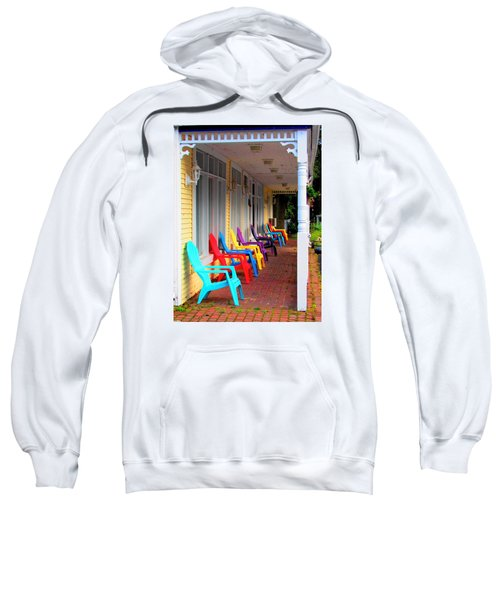 Colorful Chairs Sweatshirt