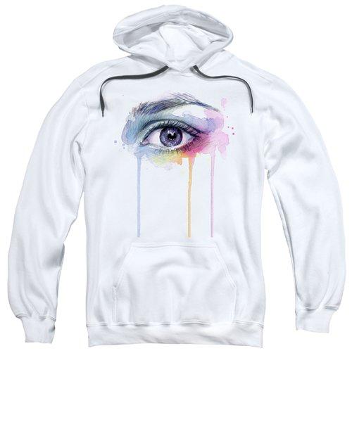 Colorful Dripping Eye Sweatshirt