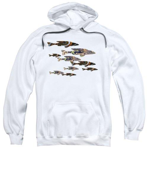 Colorful Fish Sweatshirt
