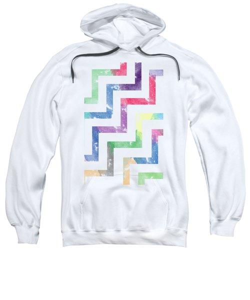 Colorful Geometric Patterns Vi Sweatshirt