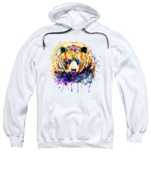 Colorful Grizzly Bear Sweatshirt