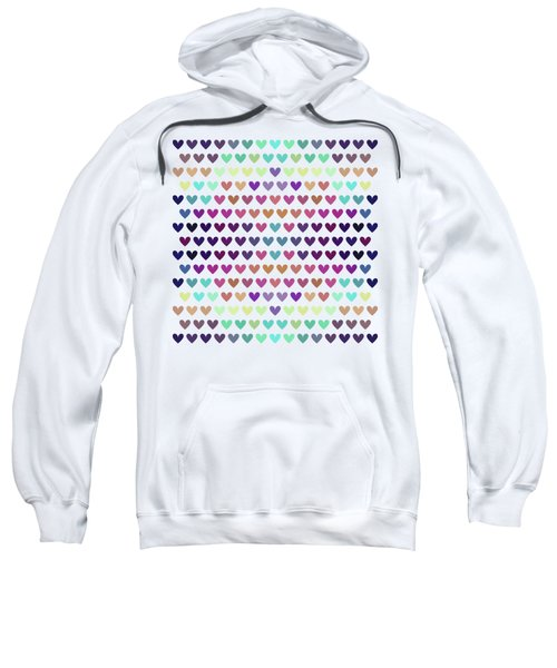 Colorful Hearts IIi Sweatshirt