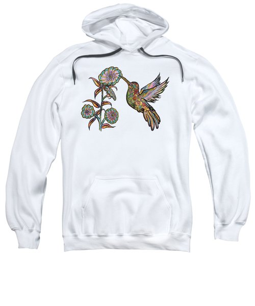 Colorful Hummingbird Sweatshirt