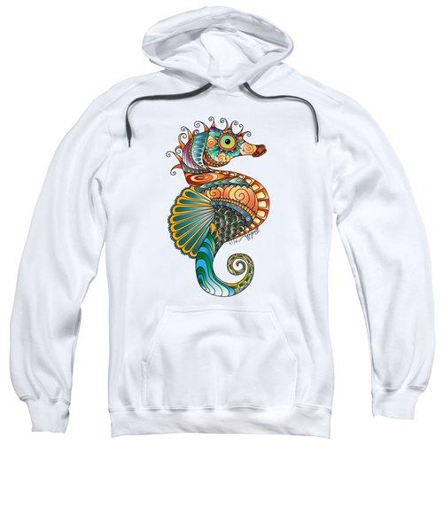 Colorful Seahorse Sweatshirt