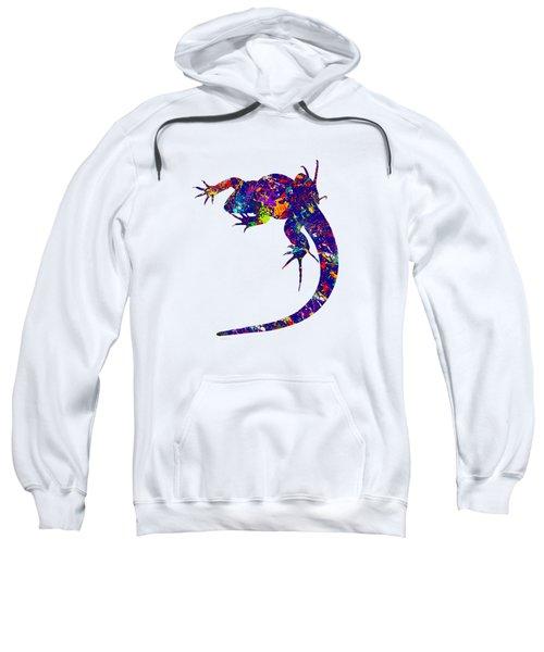 Colourful Lizard -2- Sweatshirt by Bamalam  Photography