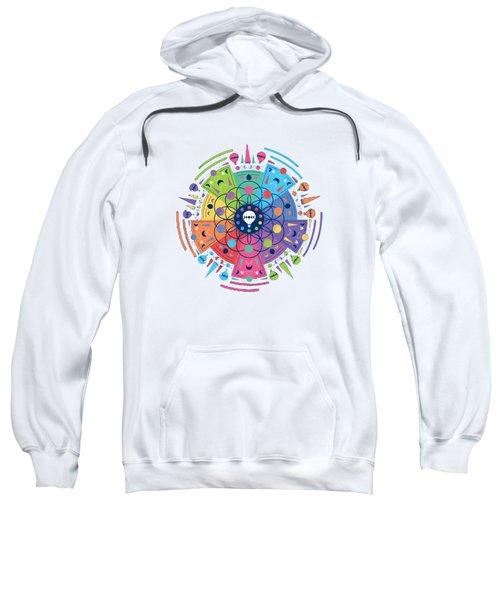 Colourful Of Stars Sweatshirt