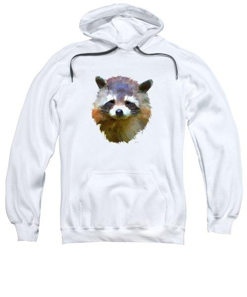 Colourful Raccoon Sweatshirt by Bamalam  Photography