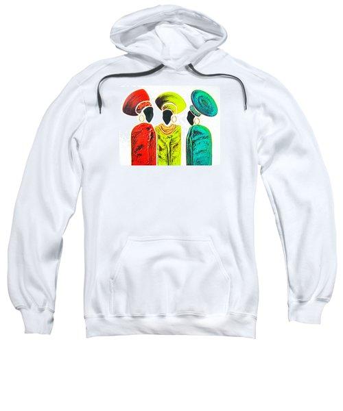 Colourful Trio - Original Artwork Sweatshirt