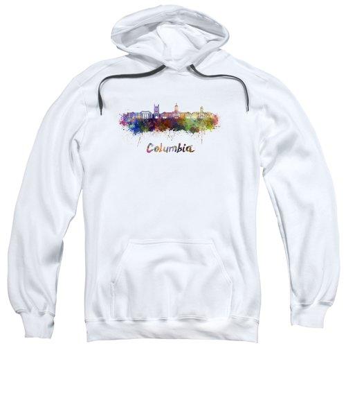 Columbia Mo Skyline In Watercolor Sweatshirt