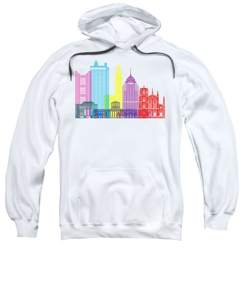 Columbus Skyline Pop Sweatshirt