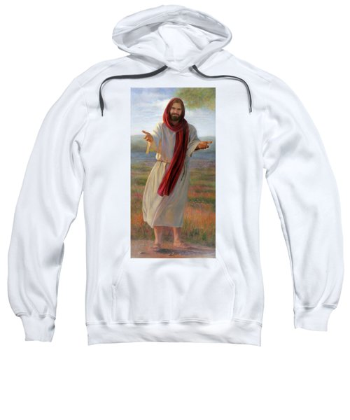 Come Unto Me Full-length Sweatshirt