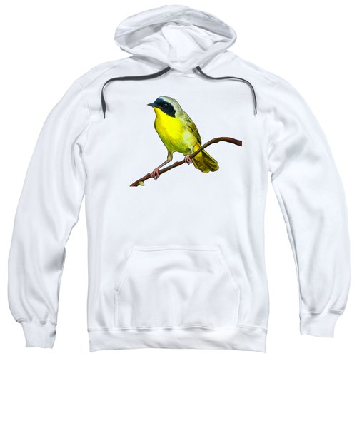 Common Yellowthroat Sweatshirt by Rory Viale