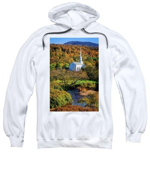 Sweatshirt featuring the photograph Community Church by Scott Kemper