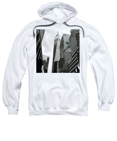 Commuters' View Of 1 World Trade Center Sweatshirt