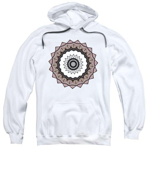 Construction Mandala By Kaye Menner Sweatshirt by Kaye Menner
