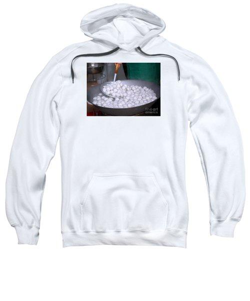 Cooking Chinese Fish Balls Sweatshirt