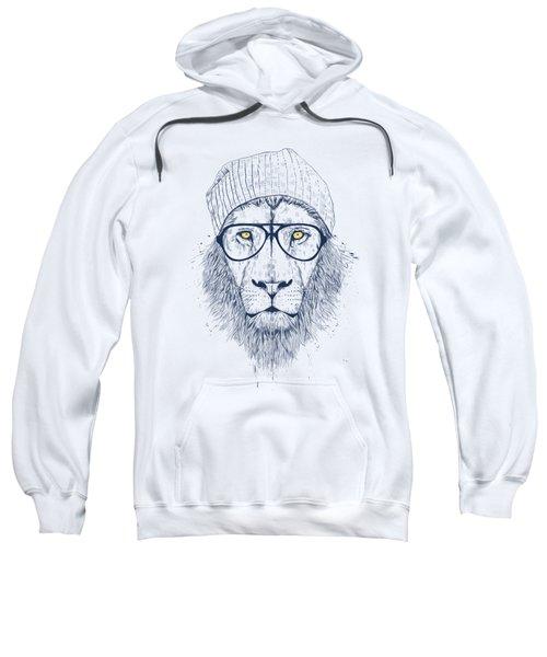 Cool Lion Sweatshirt by Balazs Solti