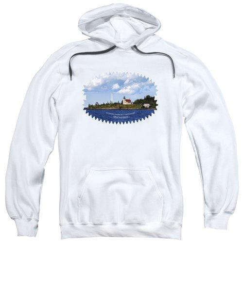 Copper Harbor Lighthouse Sweatshirt