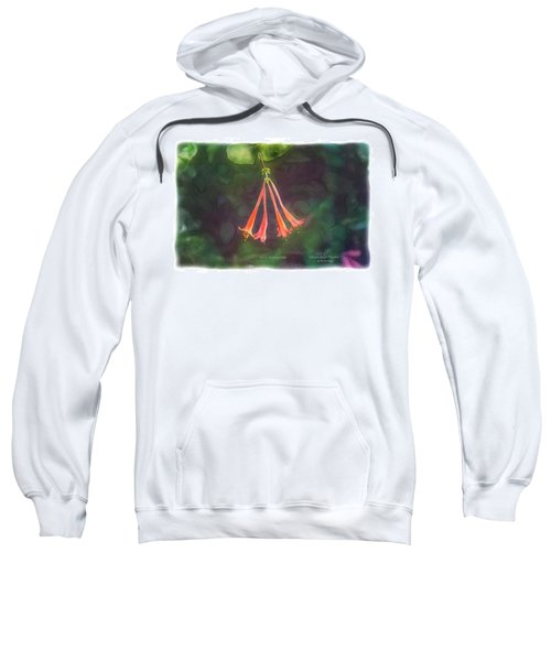 Coral Honeysuckle Sweatshirt