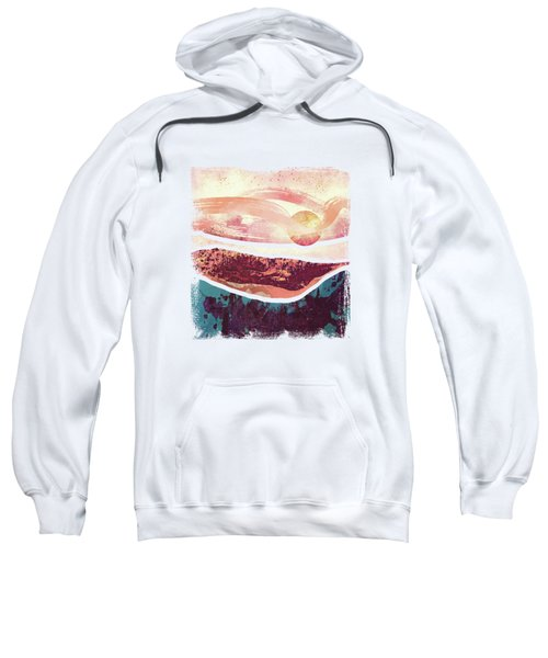 Coral Sky Sweatshirt by Katherine Smit