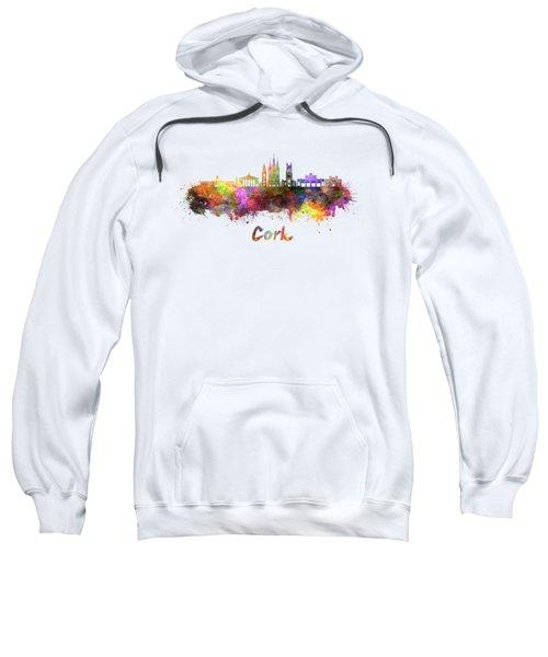 Cork Skyline In Watercolor Sweatshirt