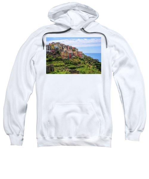 Corniglia Cinque Terre Italy Sweatshirt