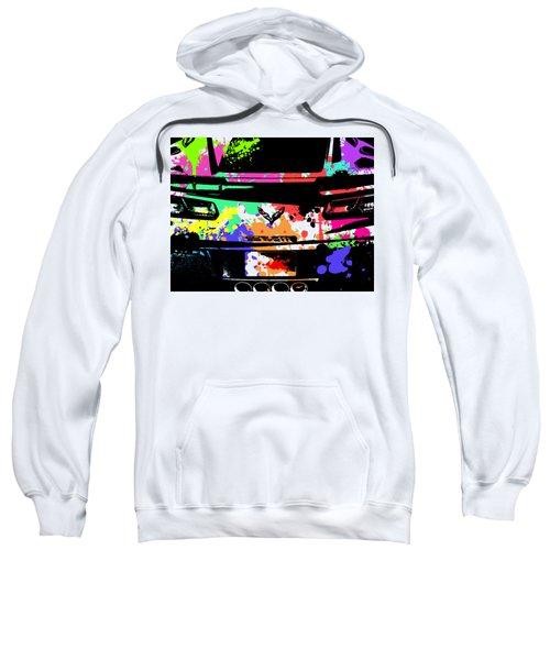 Corvette Pop Art 2 Sweatshirt