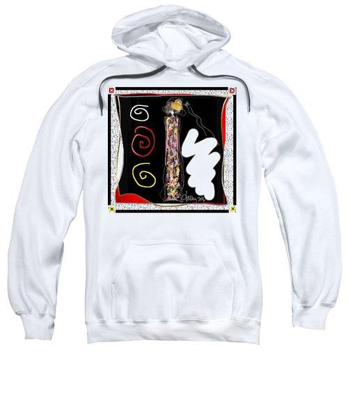 Cosmic Geisha - Trapped In Computational Graffiti  Sweatshirt