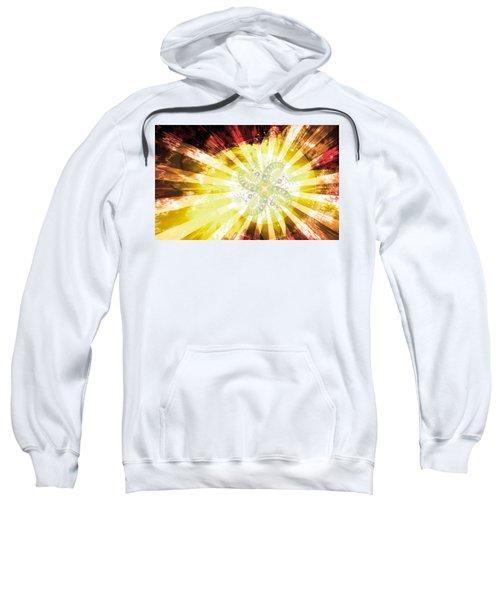 Cosmic Solar Flower Fern Flare 2 Sweatshirt