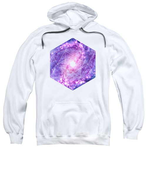 Cosmic Vacuum Cleaner Spiral Galaxy M83 Sweatshirt