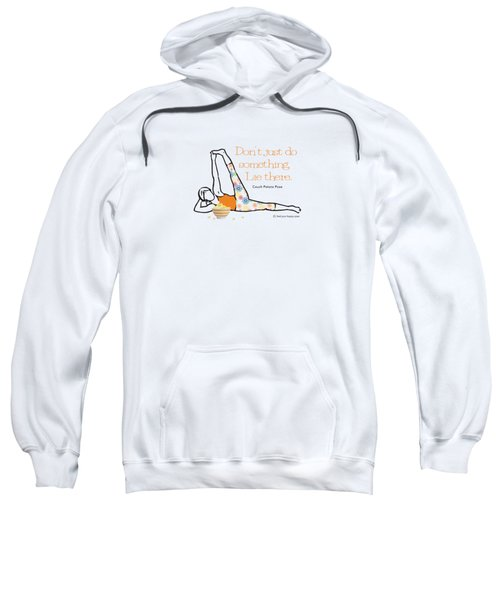 Couch Potato Pose Sweatshirt