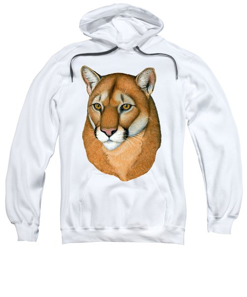Cougar Portrait Sweatshirt