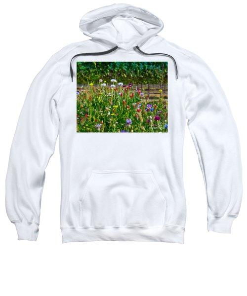 Country Wildflowers II Sweatshirt