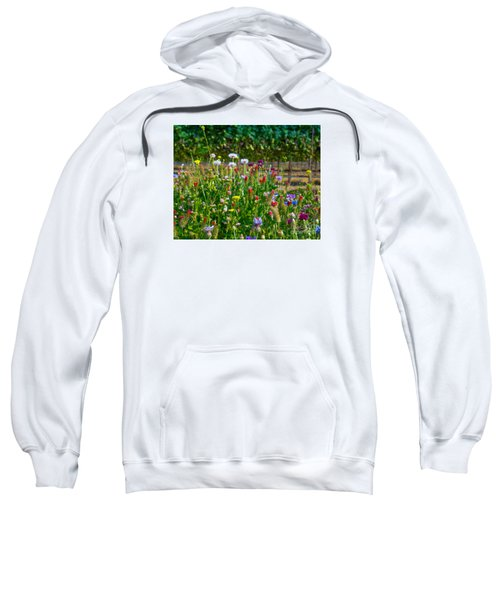Country Wildflowers II Sweatshirt