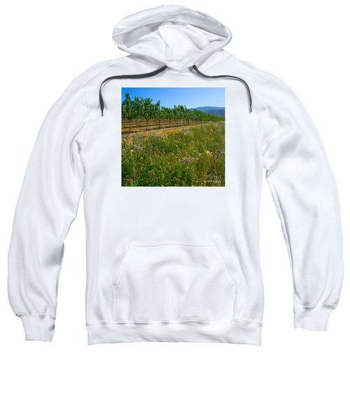 Country Wildflowers V Sweatshirt