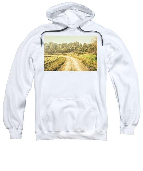 Countryside Road In Outback Australia Sweatshirt