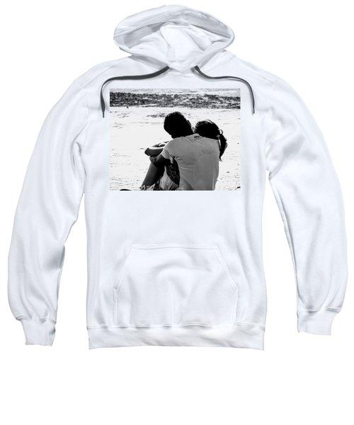 Couple On Beach Sweatshirt