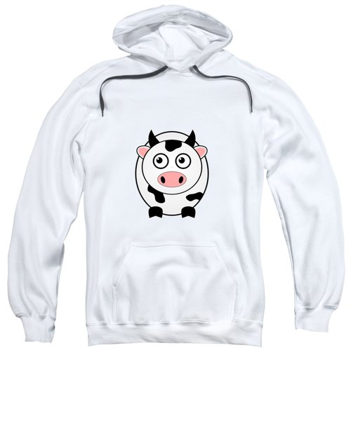 Cow - Animals - Art For Kids Sweatshirt