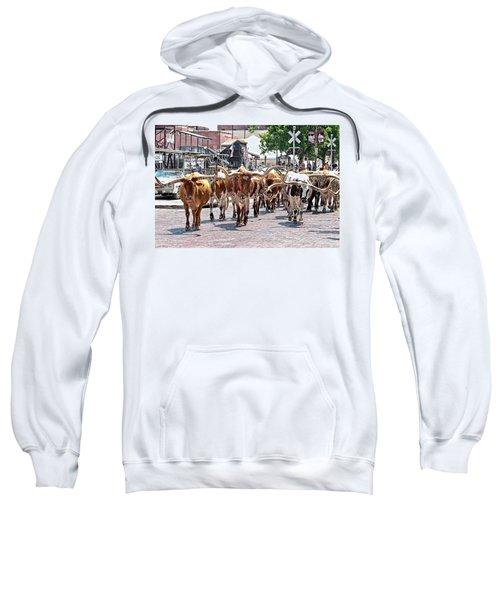 Cowtown Stockyards Sweatshirt