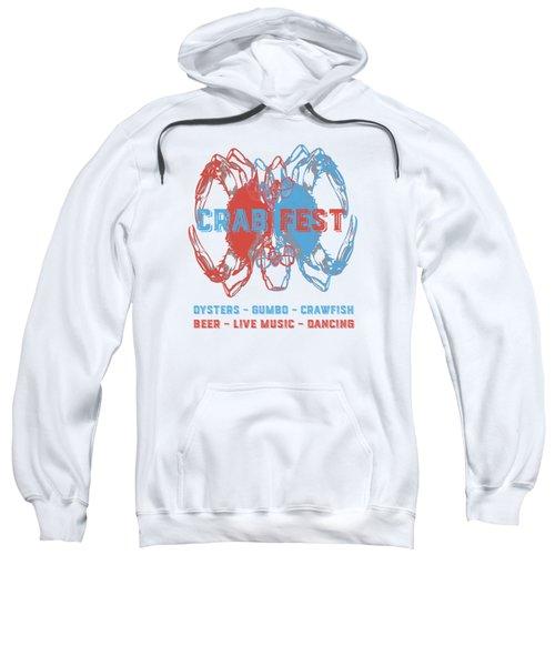 Crab Fest Tee Sweatshirt