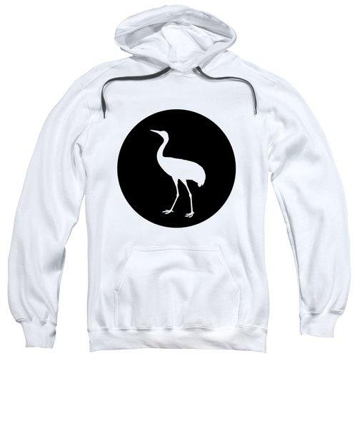 Crane Sweatshirt by Mordax Furittus