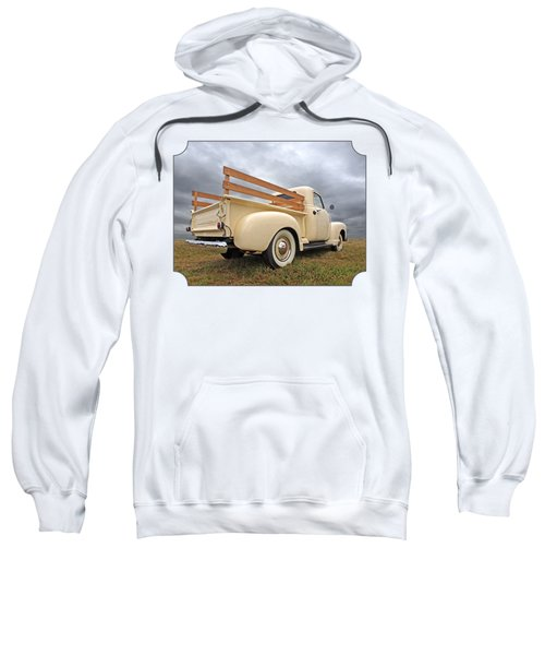 Cream Of The Fifties - Chevy Truck 1950 Sweatshirt