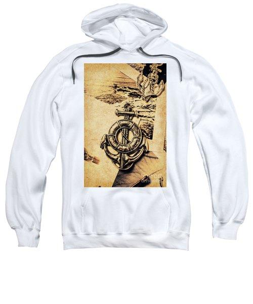 Crest Of Oceanic Adventure Sweatshirt