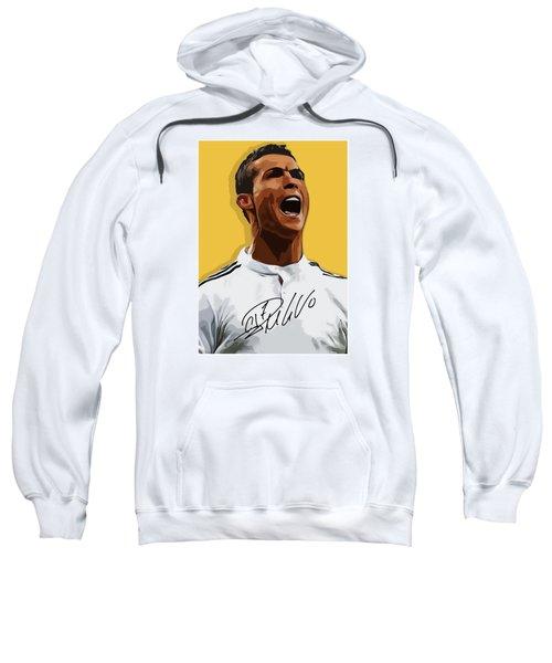 Cristiano Ronaldo Cr7 Sweatshirt by Semih Yurdabak