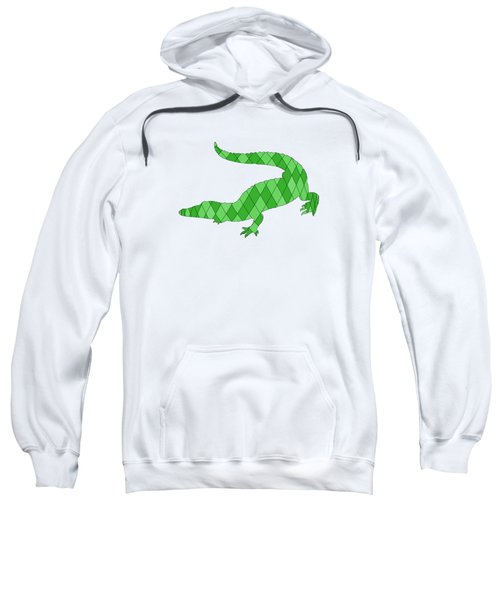 Crocodile Sweatshirt by Mordax Furittus