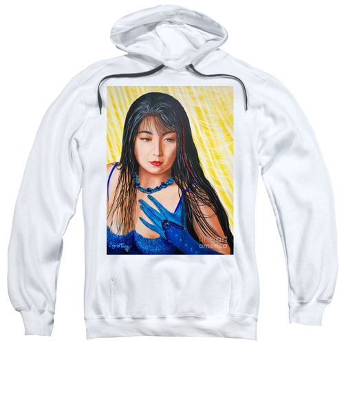 Crystal Blue China Girl            From   The Attitude Girls  Sweatshirt