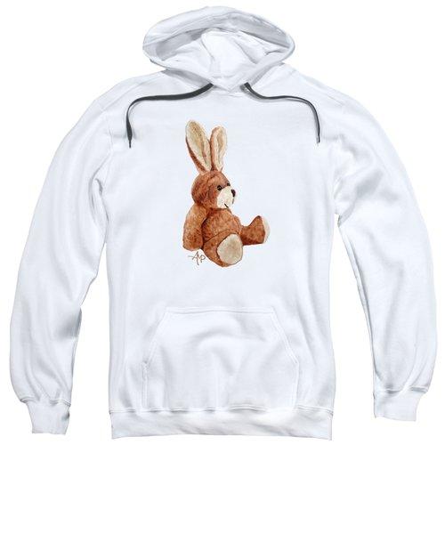 Cuddly Rabbit Sweatshirt by Angeles M Pomata