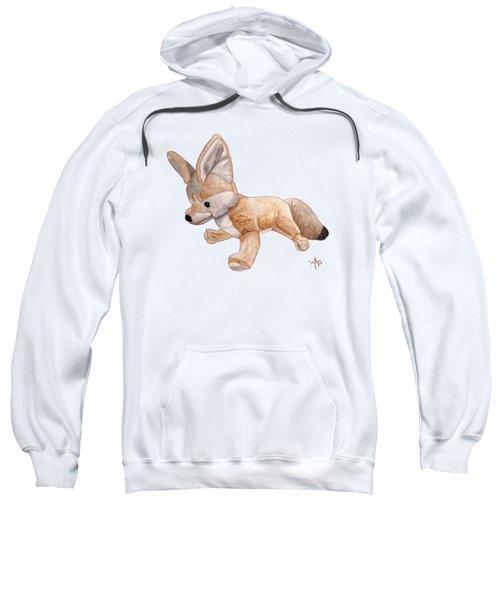 Cuddly Snow Fox Sweatshirt