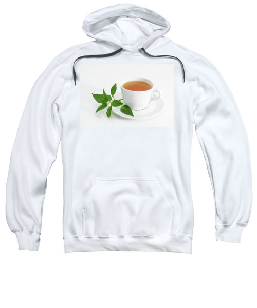 Cup Of Tea With Fresh Mint Sweatshirt